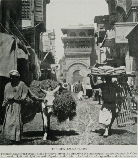 The_S++k-En-Nahassin,_the_Most_Beautiful,_Romantic,_and_Medi+ªval_Street_in_Cairo._(1911)_-_TIMEA